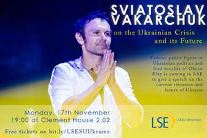 LSE SU Ukrainian - Sviatoslav Vakarchuk on Ukrainian...