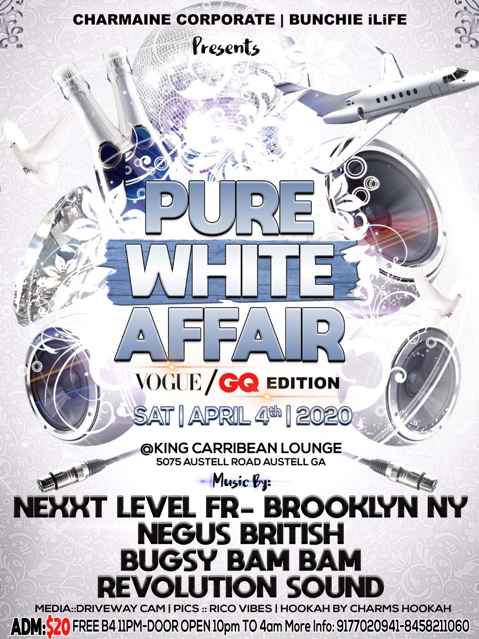 Pure White Affair 2020