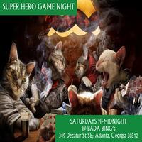 SUPER HERO GAME NIGHT