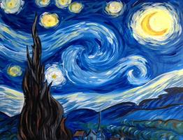 "Creole Canvas - ""Starry Night"" - (SOLD OUT)"