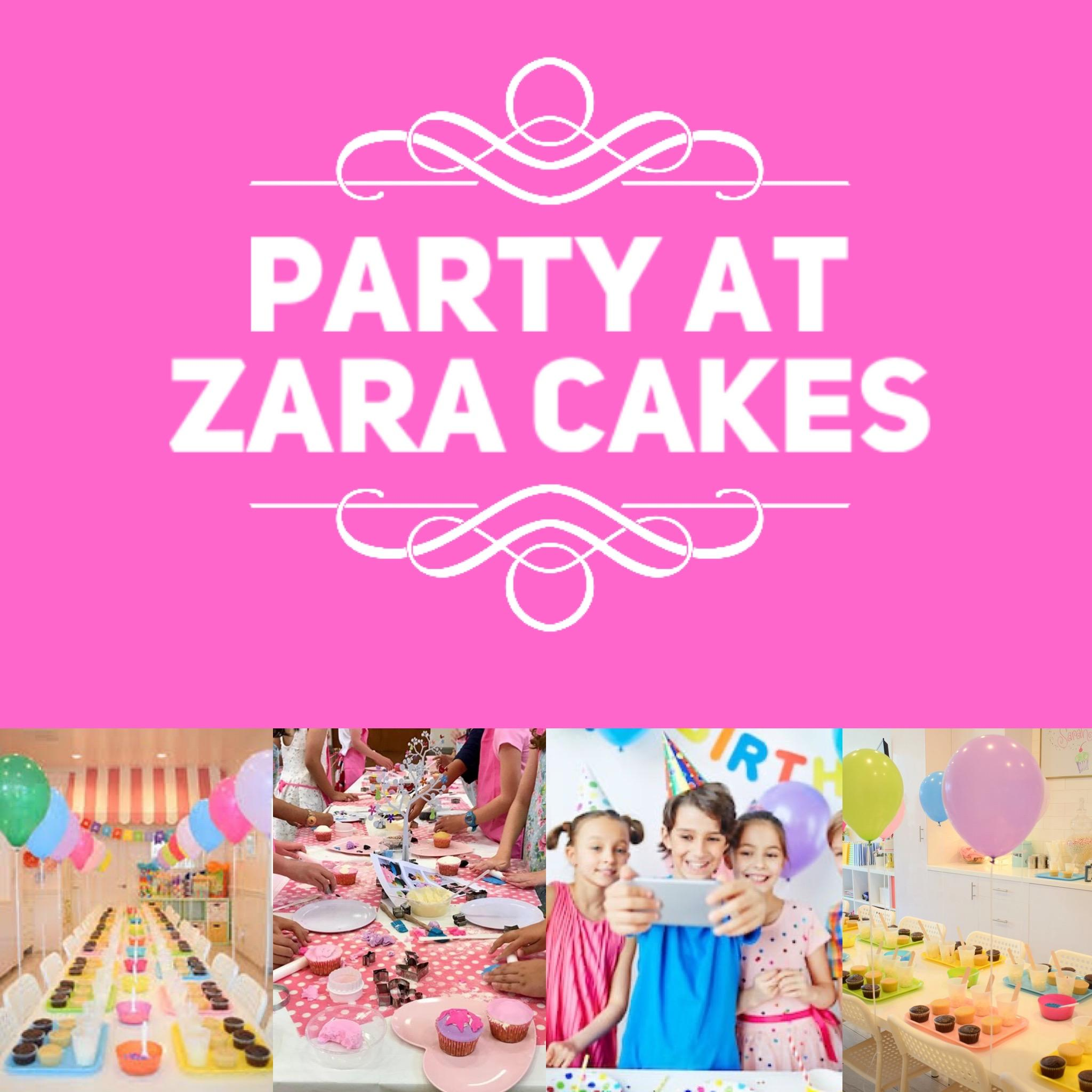 ULTIMATE PACKAGE CUPCAKE PARTY - £350