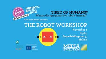 AGJ and Arduino presents: THE ROBOT WORKSHOP