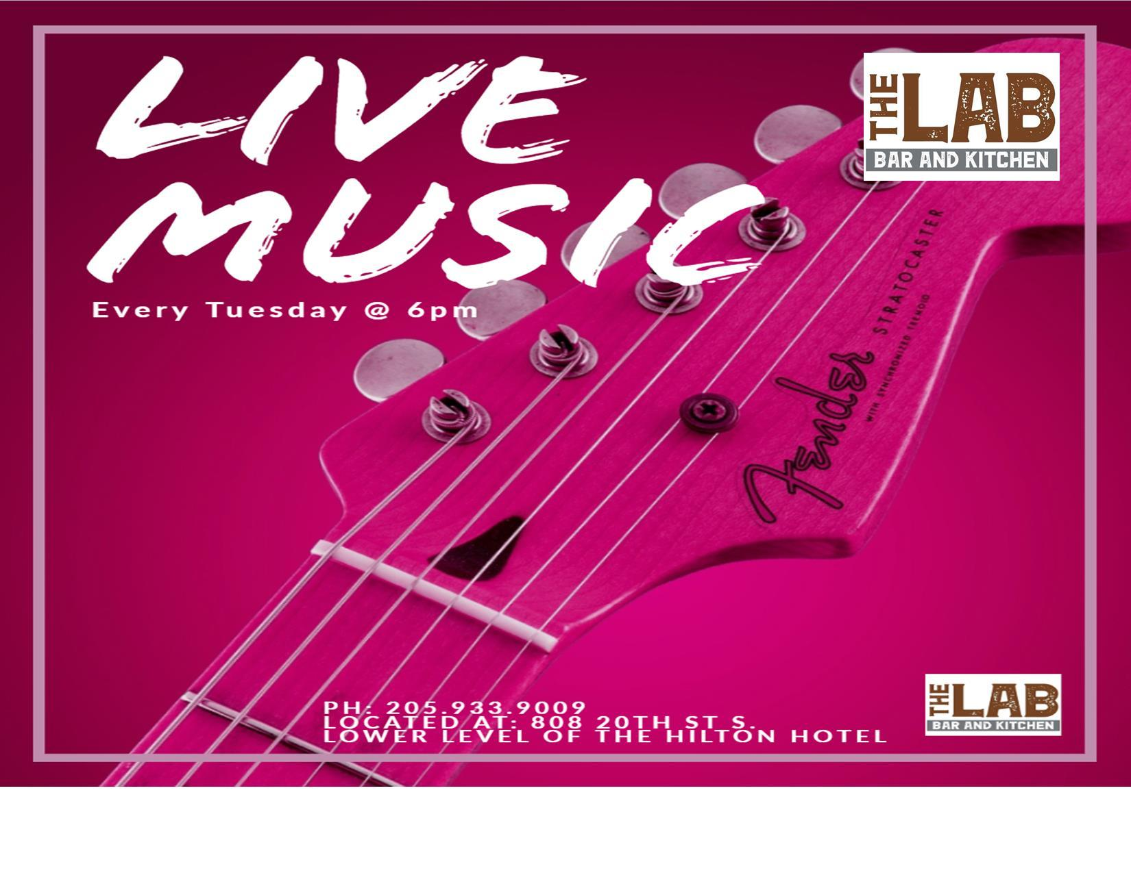 Live Music at The Lab Bar and Kitchen