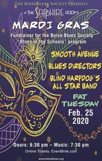 Boise Blues Society Fat Tuesday