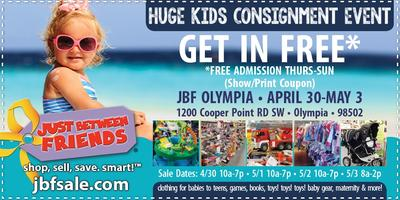 Image result for JBF Olympia General Admission (FREE)