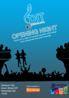 "DIT Musical Society Presents ""Opening Night"""