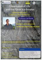 Co-Evolution of Life and the Planet Ice-breaker - with...