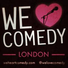 We Love Comedy logo