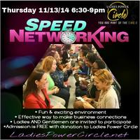 Ladies Power Circle presents SPEED NETWORKING
