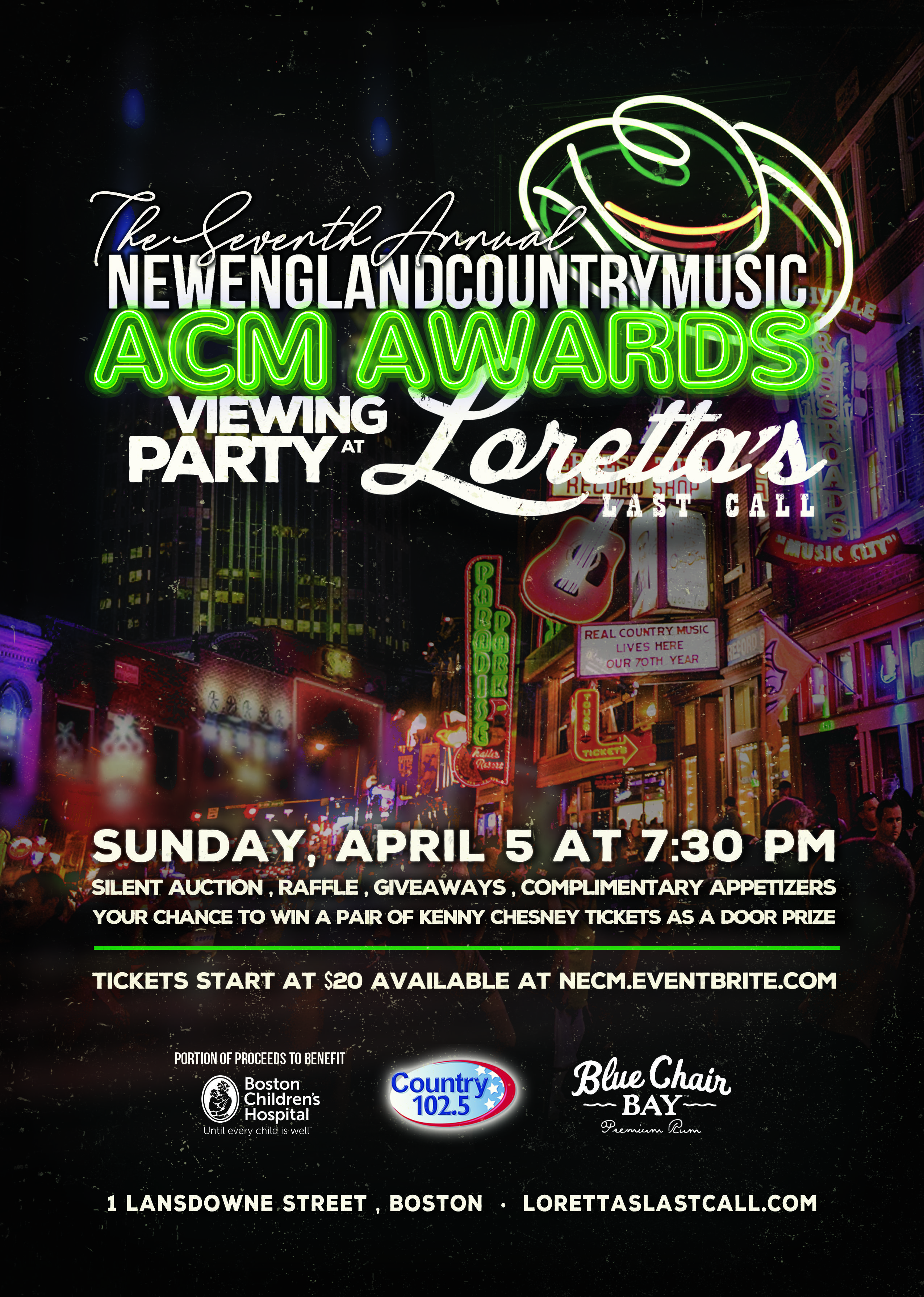 NECM's 7th Annual ACM Awards Viewing Party