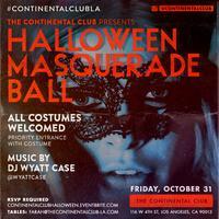 The Continental Club's Halloween Masquerade Ball