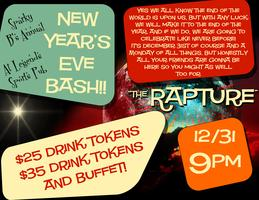 "Sparky B's Annual New Year's Eve Party ""The Rapture"""