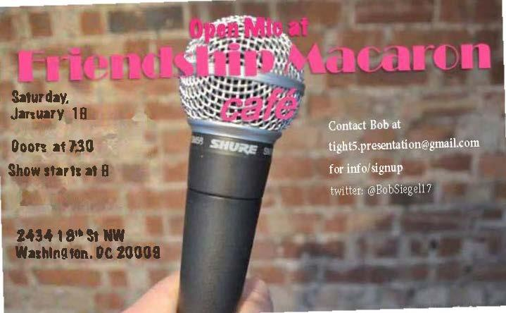 Cafe Comedy - Open Mic