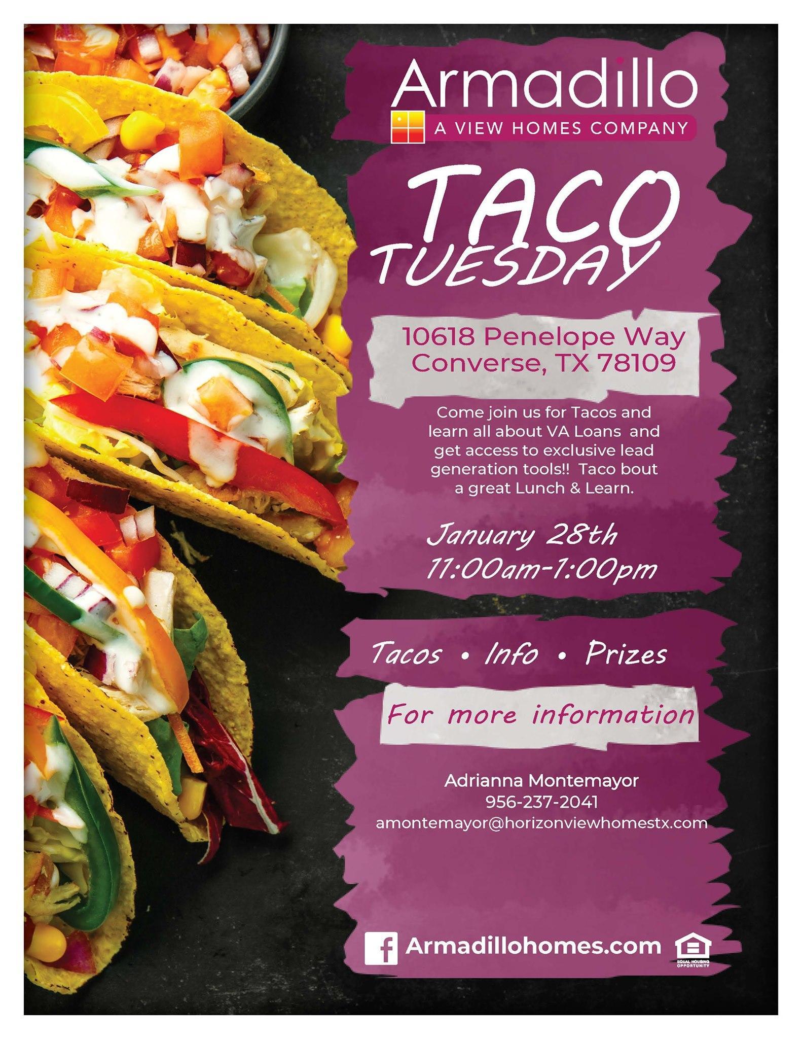 Taco Tuesday Paloma: VA LOANS 20/20