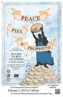 Peace, Pies & Prophets: I'd Like to Buy an Enemy