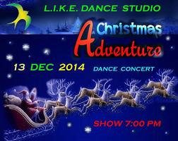"""Christmas Adventure"" dance spectacle"