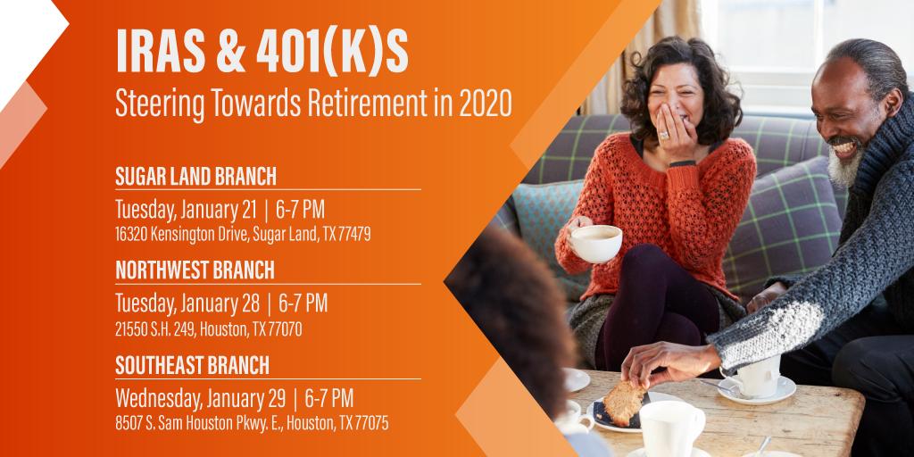 IRAs & 401(K)s: Steering Towards Retirement in 2020 -Southeast