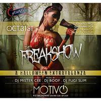 The Freak Show (The Biggest NYC Halloween Party)