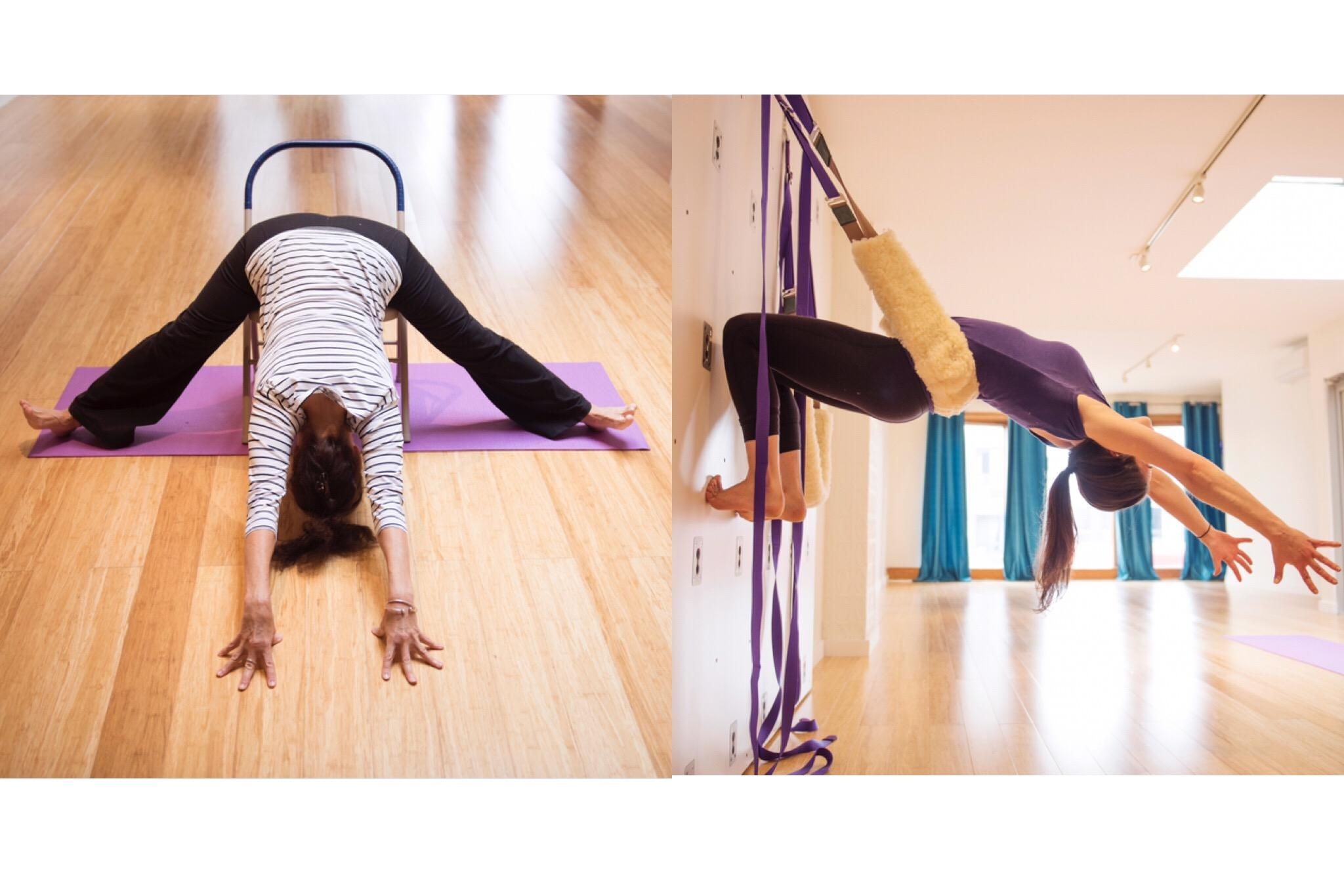 Deepening Your Practice with the Iyengar Chair and Yoga Wall