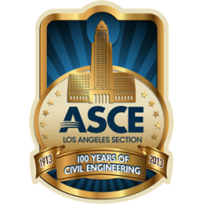Organized by the Los Angeles Section Centennial Celebration Committee and ASCE Region 9 logo