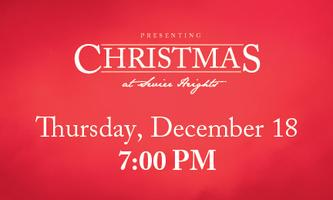 Christmas at Sevier Heights - Thursday, December 18 //...