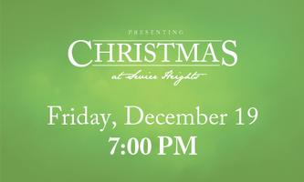 Christmas at Sevier Heights - Friday, December 19 //...