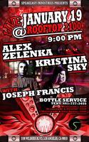 Alex Zelenka & Kristina Sky @ Rooftop 3100