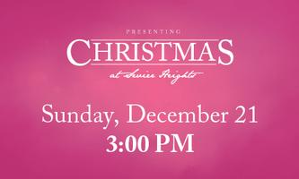 Christmas at Sevier Heights - Sunday, December 21 //...