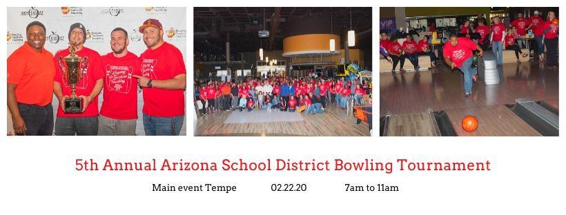 5th Annual Arizona School District Bowling Tournament