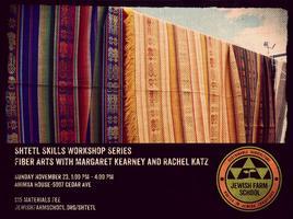 Shtetl Skills Workshop Series: Fiber Arts with...
