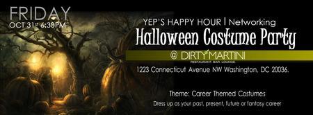 YEP Happy Hour Series: Career Themed Costume Party