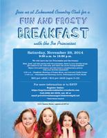 Ice Princesses Character Breakfast