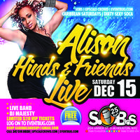 Alison Hinds Live with full band