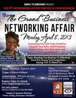GRAND Business Networking Affair - April 2013