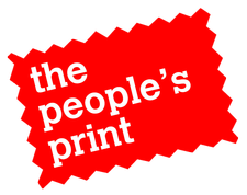 The People's Print logo