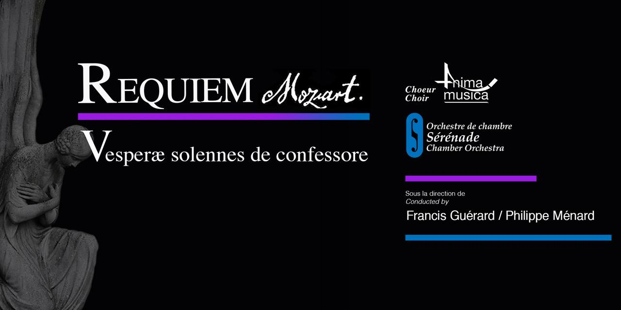 Choeur Anima Musica / Orchestre Sérénade - Mozart à Westmount!