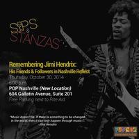 Sips & Stanzas - Jimi Hendrix:  His Friends &...