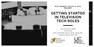 Getting Started in Television Tech Roles
