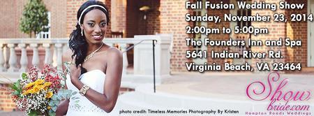 Fall Fusion Wedding Show