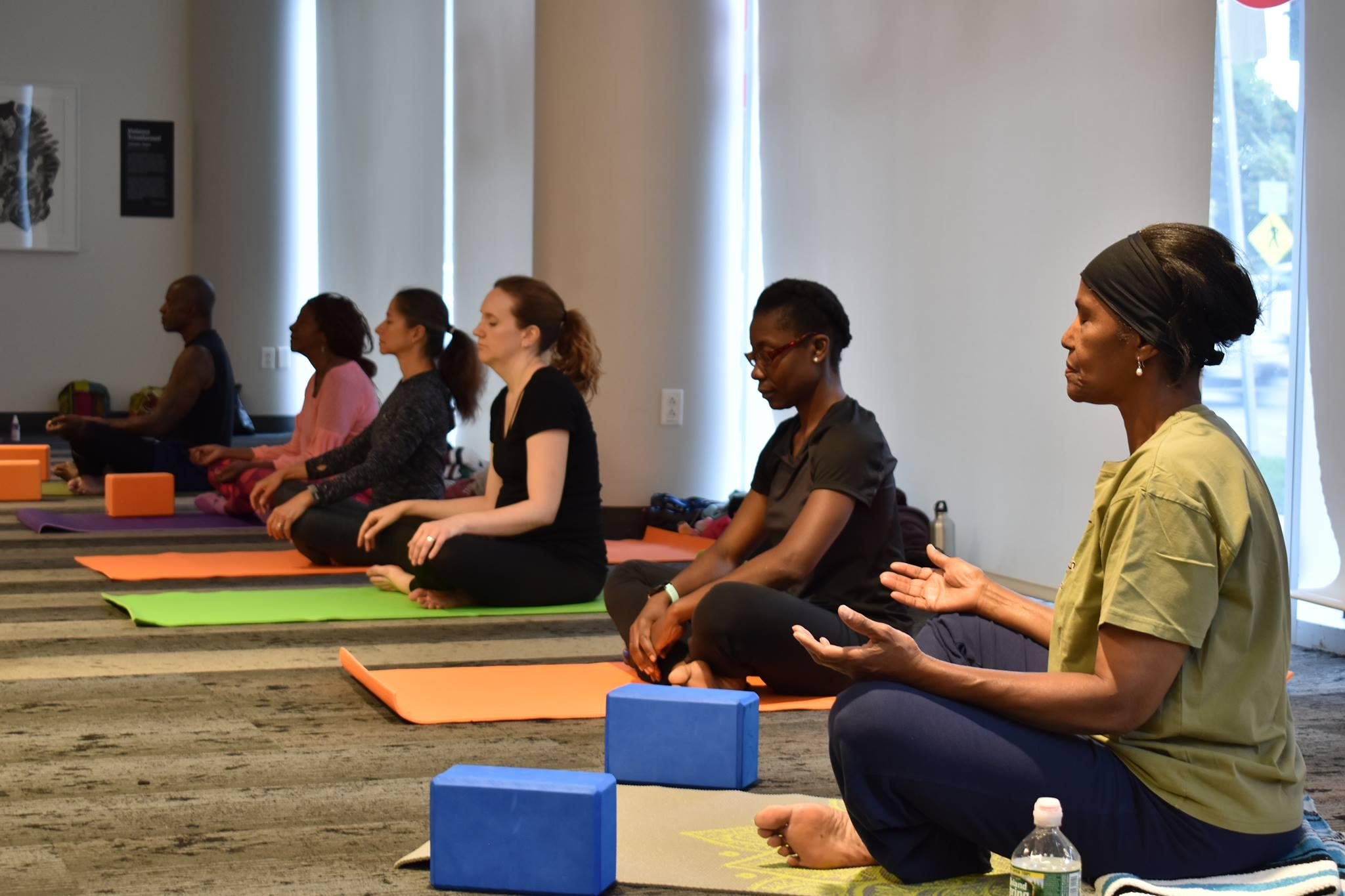 Afro Flow Yoga @ Northeastern Crossing