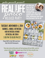 Real Life Paleo Release Party with Matt & Stacy