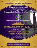 The 2014 Achievement Week Founder's Day Banquet...