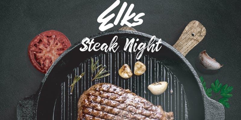 Steak Night at The Elks Lodge #2148