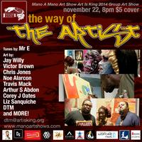 The Way Of The Artist Group Art Show