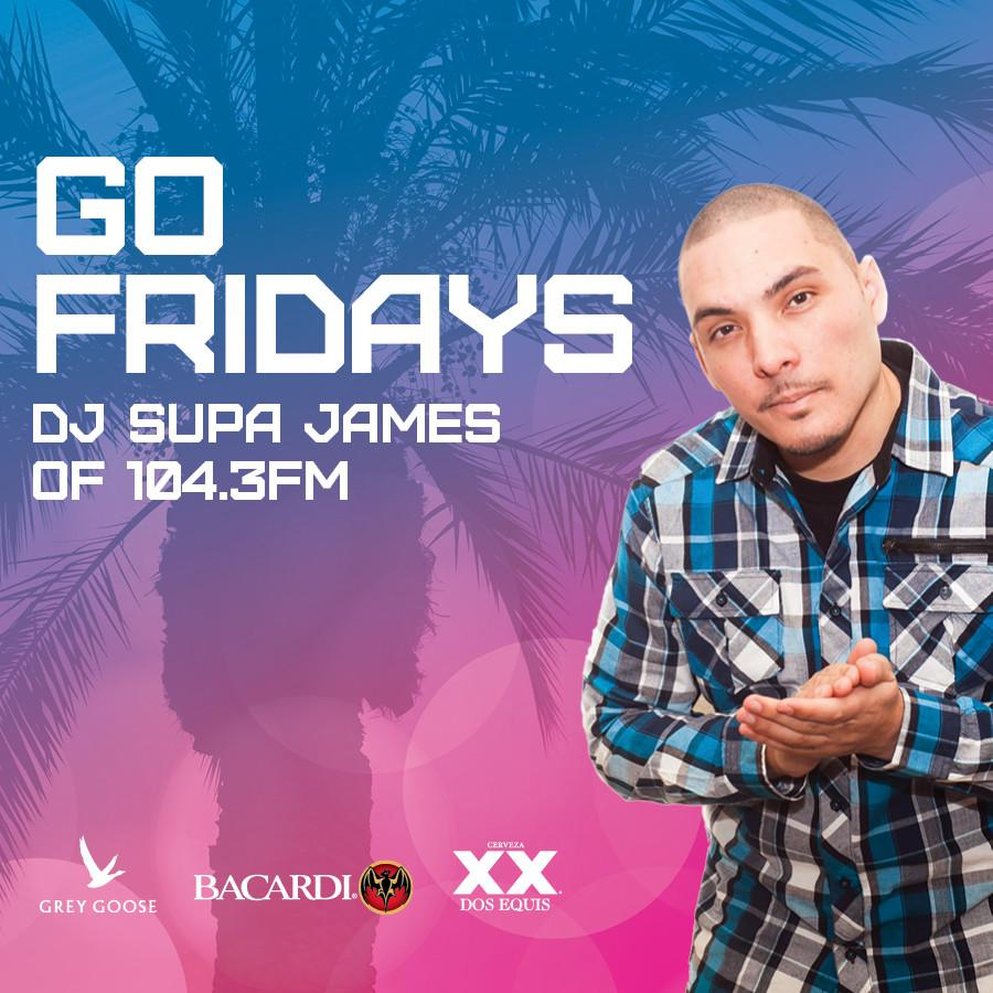 Go Friday at Go Pool Free Guestlist - 3/27/2020