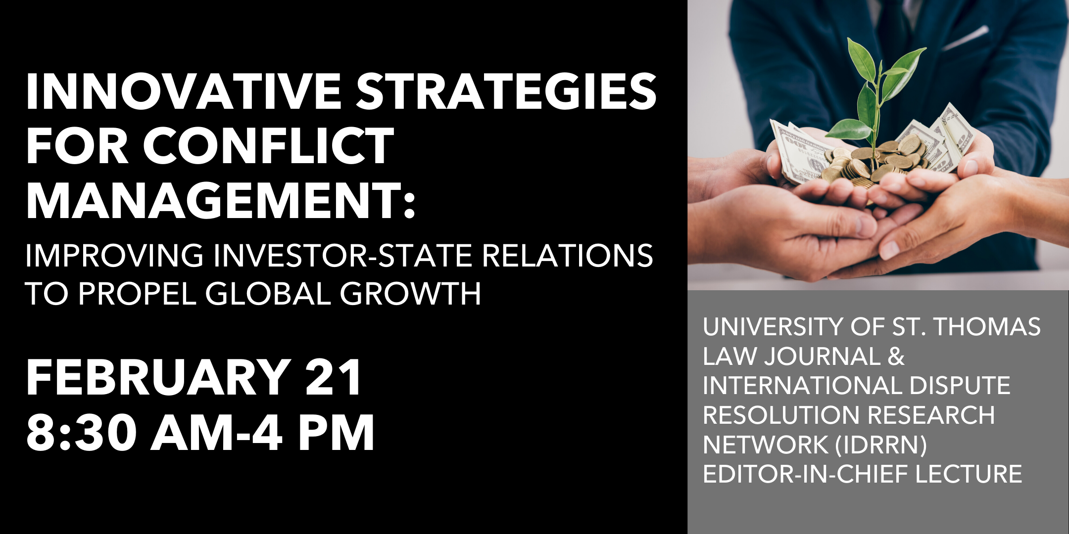 UST Law Journal EIC Lecture: Innovative Strategies for Conflict Management