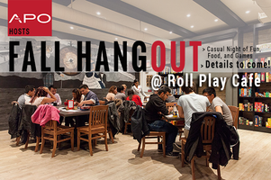 Fall Hangout @ Roll Play Cafe