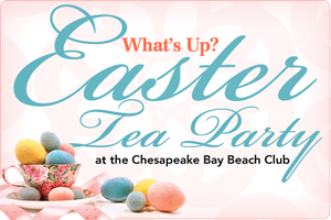 What's Up? Easter Tea 2013
