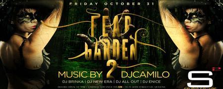 DJ Camilo Fear Garden Halloween Party NYC at Studio Squ...