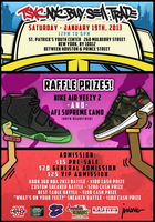 TSXC - SNEAKER CONVENTION - JAN 19TH, 2013